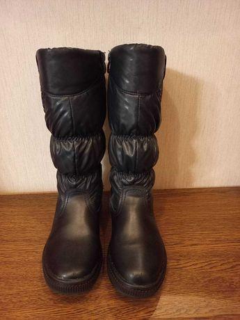 Зимние сапоги для девочки 35 размер
