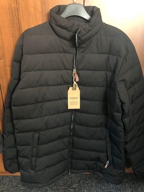 Męska kurtka pikowana Szwedzkiej marki Weather Report rozmiar L