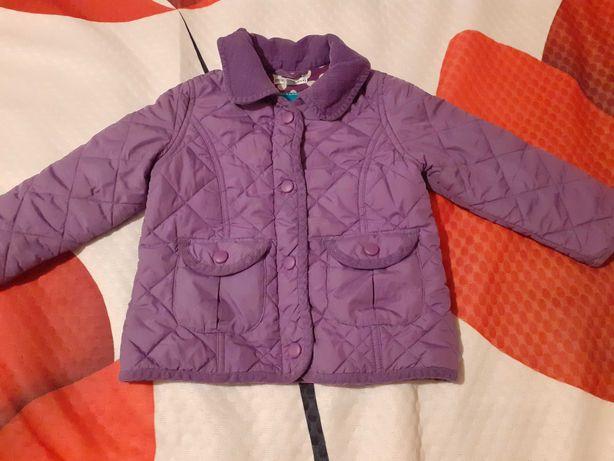 Śliczna fioletowa kurteczka, płaszczyk 86-92 1.5 roku-2 latka GRATIS