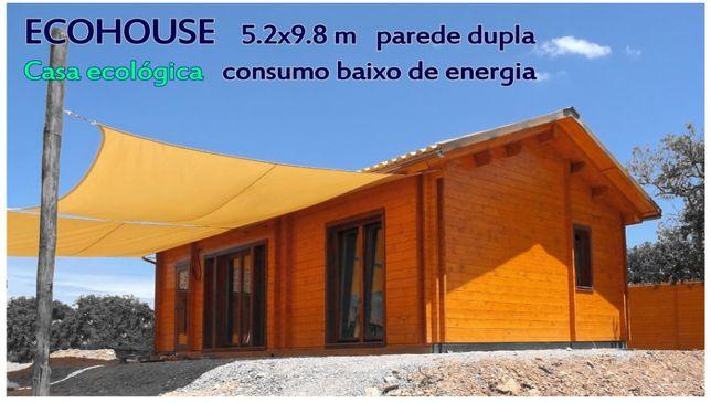 Casa ECOLÒGICA 51 m² - Casa baixo de energia / ECO Woodhouse