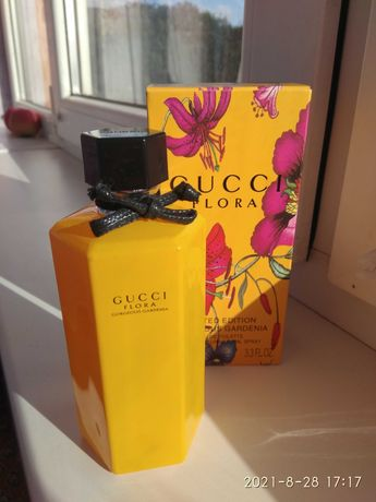 Парфюм Gucci Flora By Gucci Gorgeous Gardenia Limited Edition