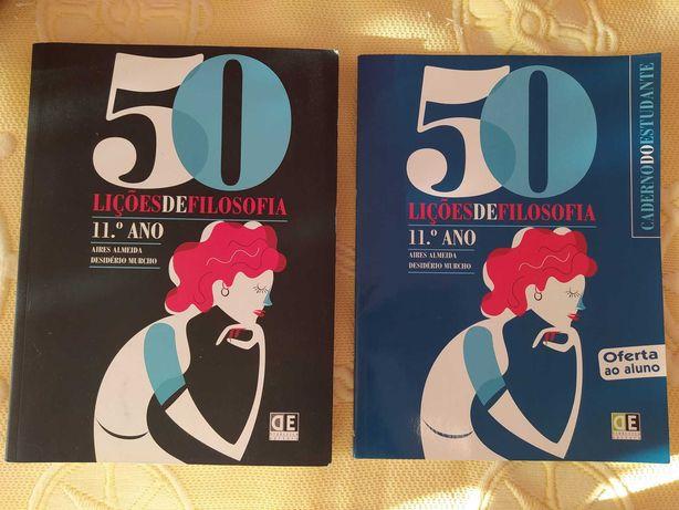 Manual 50 lições de filosofia 11ºano