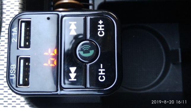Bluethoot e FM atendedor de chamadas no carro