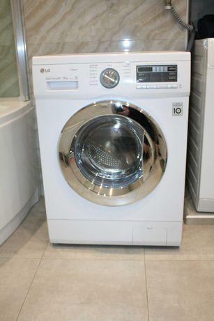 Узкая стирально-сушильная машина LG F1296CDS3  6кг