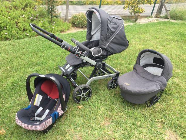 CarCarinho de bebe Trio Hartan-Britax-Rommer e base Isofix