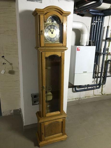 Zegar gabinetowy z kurantem 4/4 westminster