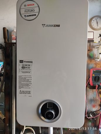 Esquentador Junkers ventilado