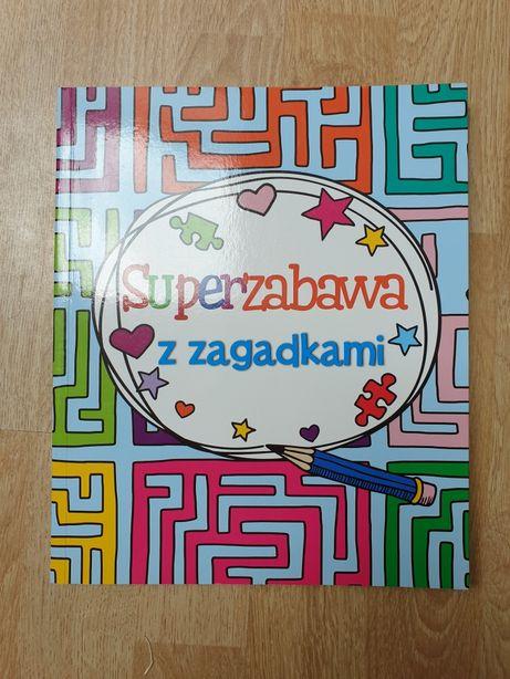 Książka Super zabawa z zagadkami NOWA