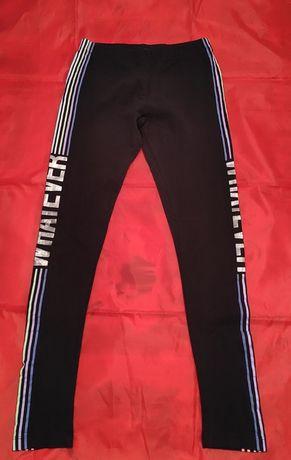 Leginsy spodnie dresowe dziewczęce rozmiar 152