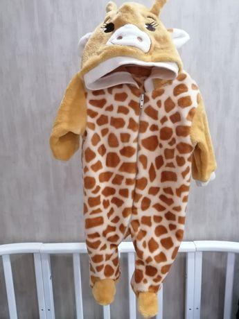 Тёплый человечек, жирафик