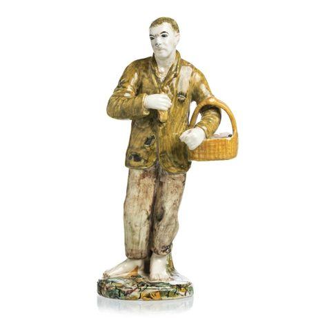 Escultura Faiança Fábrica Cavaquinho
