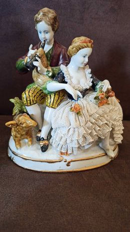 Figurka porcelanowa unter weiss bach 1682