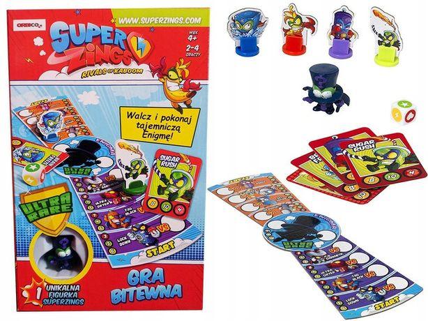 Super Zings gra + Figurka ENIGMA
