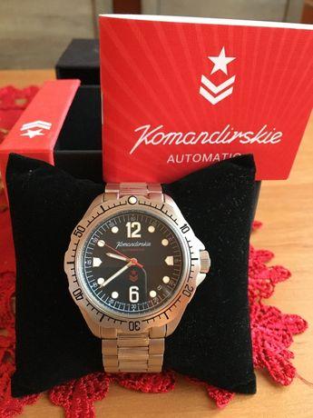 Zegarek automatyczny vostok komandirski K-34
