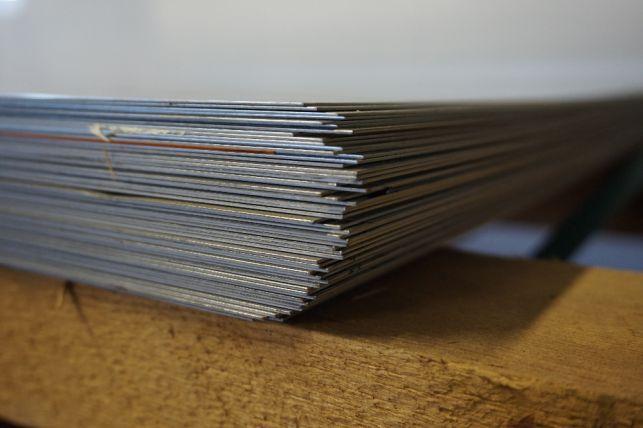 Blacha kwasoodporna 0,8x1250x2500 gat. 1.4301