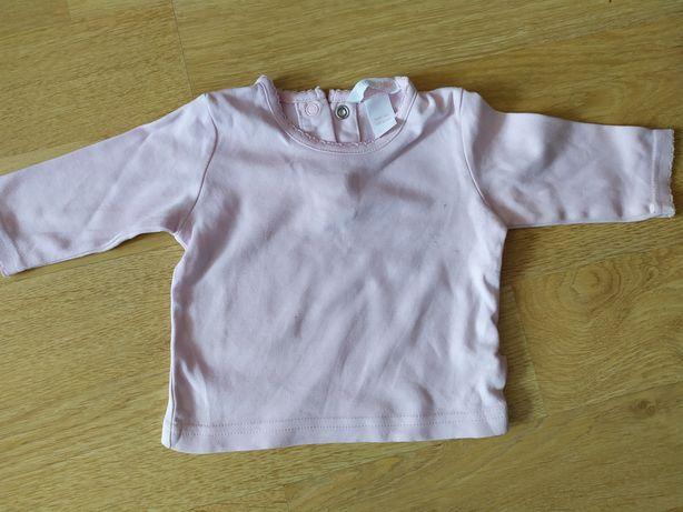 Bluzki dla dziewczynki 62-68 9szt.