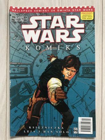 KOMIKS STAR WARS Księżniczka Leia i Han Solo