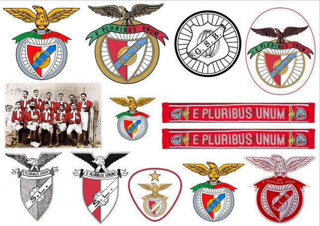 Conjunto de autocolantes Benfica