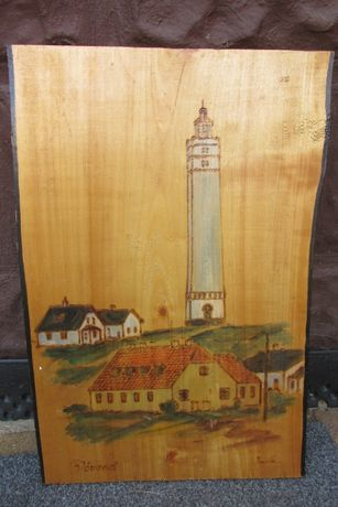 Obraz obrazek drewniany wypalany deska na desce WYSYŁKA