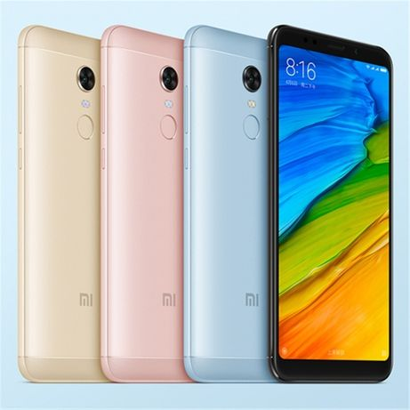 Смартфон Xiaomi RedMi 5 Plus (4+64 Гб, + CDMA, голубой) В НАЛИЧИИ!
