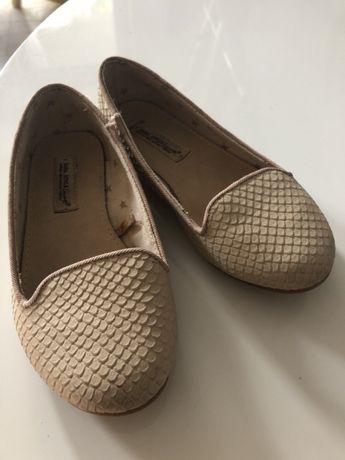 Baleriny półbuty baletki pantofelki Zara buty