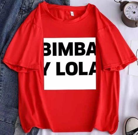 T-shirt Bimba&lola vermelha