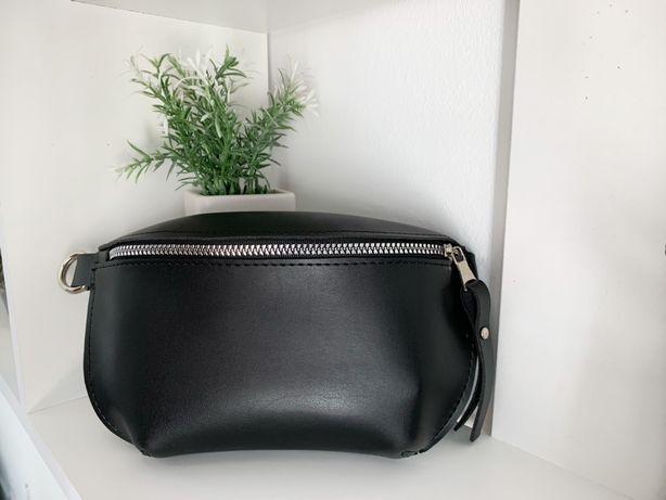 Женская сумка бананка / поясная сумка / клатч на пояс / через плечо