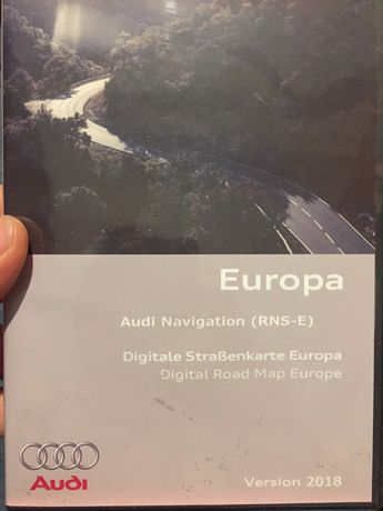 Mapa , polskie menu audi RNS-E DVD