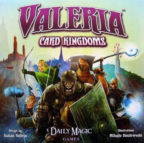 Jogo Tabuleiro/mesa -VALERIA CARD KINGDOMS - Novo