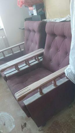 Fotele na kółkach PRL