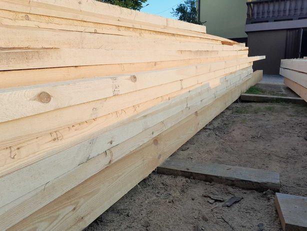 więźba dachowa drewno konstrukcyjne deski szalunkowe tartak