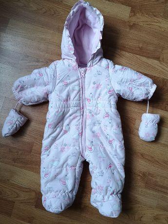 Kombinezon niemowlęcy r.62 zimowy