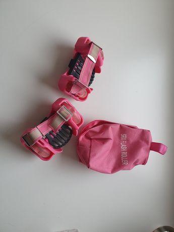 Wrotki na buty dla dziewczyn