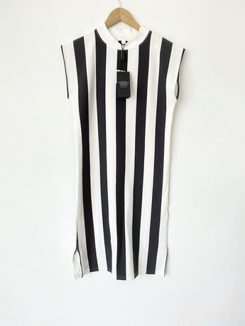 Полосатое платье Burberry оригинал в полоску