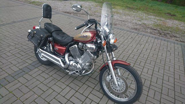 Yamaha xv 535 virago dx, dużo chromu raty transport