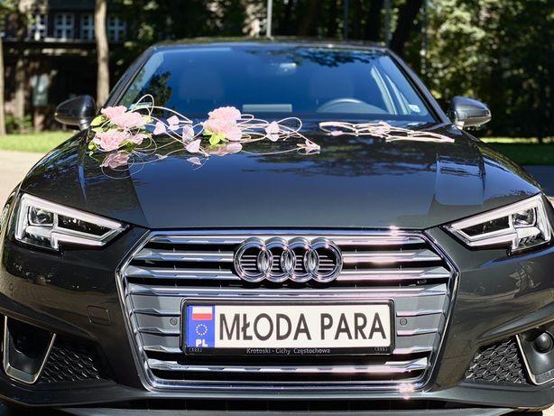 Wynajem Audi A4 samochód ślub