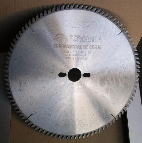 Serra Circular Ø300x3,2,x30 Z=96 TP Silenciosa (Dentes trapez+planos)