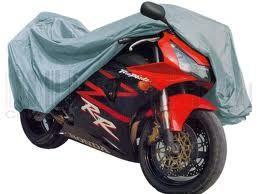 POKROWIEC NA Motocykl MOTOR Skuter 200X125 CM narzuta srebrny PLANDEKA