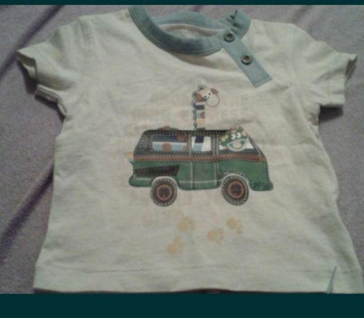 T-shirt dla maluszka 68
