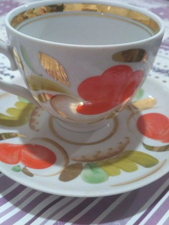Чайна парочка з  періоду радянської епохи