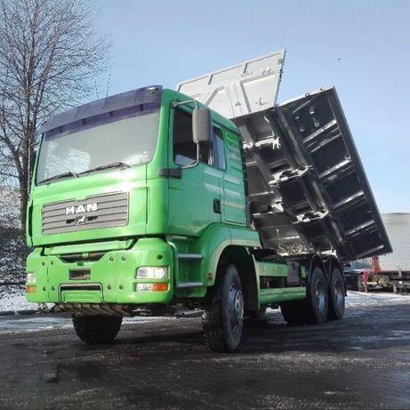Prace ziemno-transportowe! PIASEK ZIEMIA KRUSZYWA! Transport wywrotką!