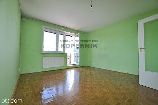 2 pokoje w cegle z balkonem blok