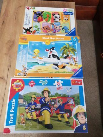 Puzzle dla dziecka 2+ i 3+ (zestaw)