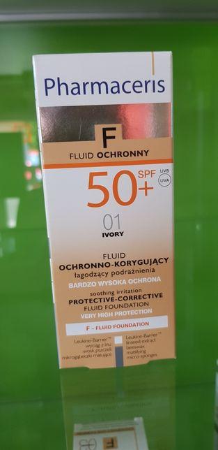 Pharmaceris F fluid ochronno korygujący Ivory SPF 50