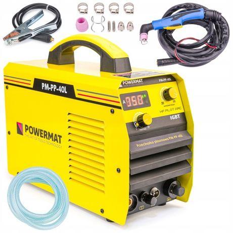 PRZECINARKA PLAZMOWA Plazma 40A 230V 12mm CUT IGBT /kable/ Powermat