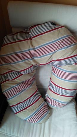 Almofada de amamentação com capa