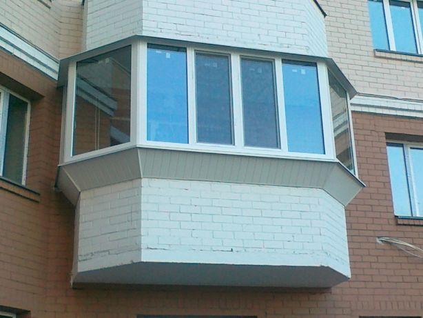 Окна (пвх) металлопластиковые под заказ. Бесплатная доставка