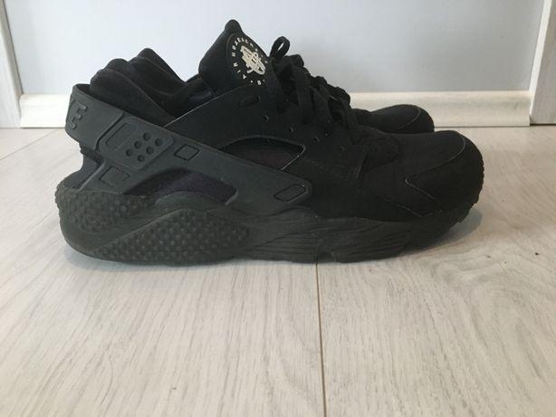 buty męskie nike sportswear air max huarache czarne 45 sneakersy niski