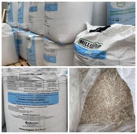 Wapno tlenkowo-węglanowe CaCO3 90%, CaO 50,2% BIG-BAG 600kg