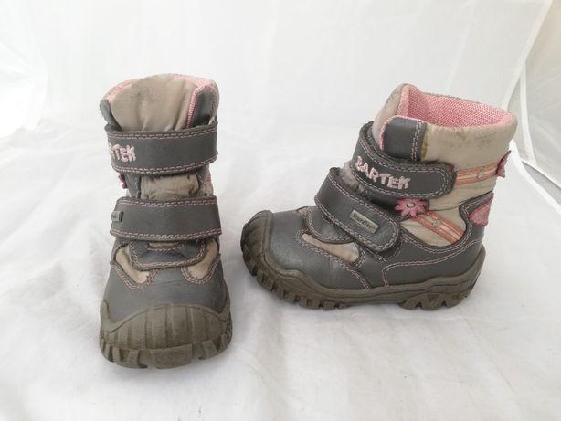 Buty zimowe Bartek Sympatex r. 23 dł wkł 14,5 cm